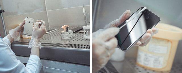 Смартфоны, микробы, Росконтроль