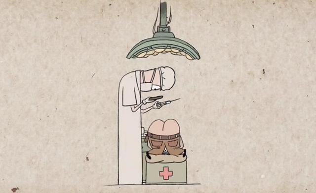 Мультфильм об опасности зависимости от смартфонов