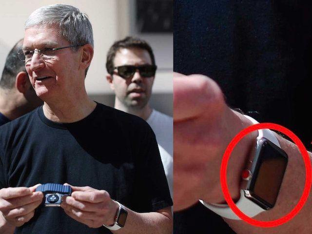 Часы Apple Watch Тима Кука