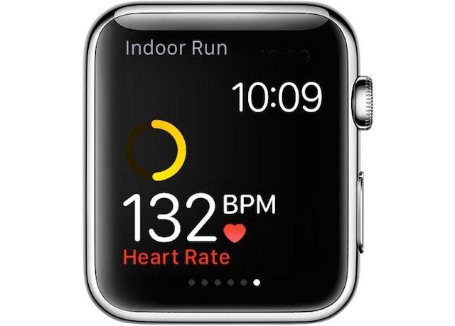 пульсометр в Apple Watch