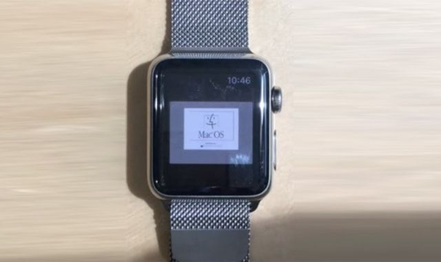 Mac OS, Apple Watch, умные часы