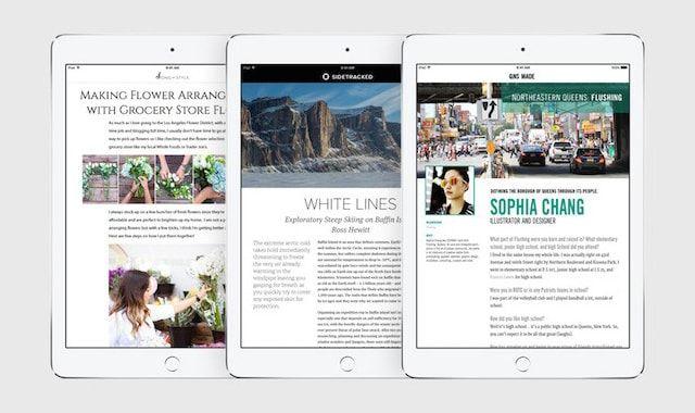 Apple News, мировые СМИ