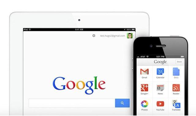 Google, приложения для iOS