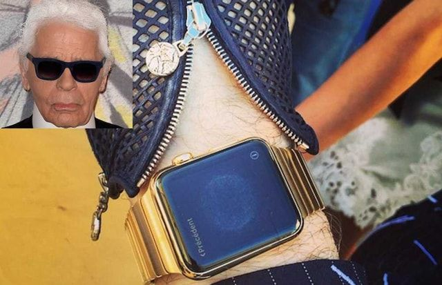 Karl Lagerfeld, Apple Watch