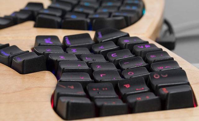 Keyboardio Model 01, клавиатура