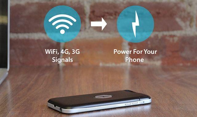 Nikola Labs Phone Case, воздушная зарядка