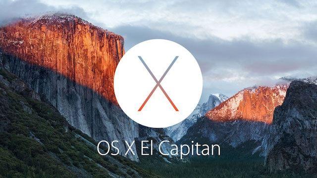 OS X El Capitan - новая операционная система для компьютеров Mac
