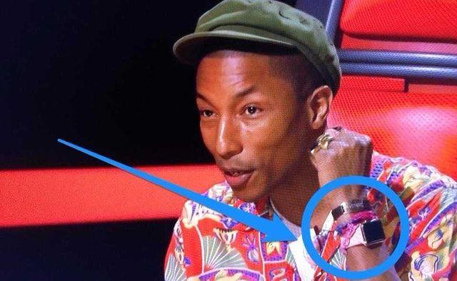 Pharrell, Apple Watch
