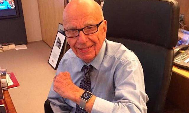 Rupert Murdoch, Apple Watch