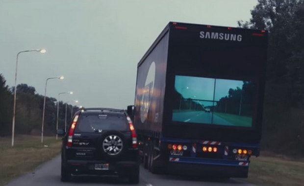 Samsung, безопасный грузовик