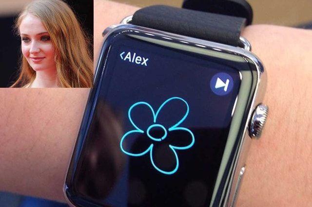 Sophie Turner, Apple Watch