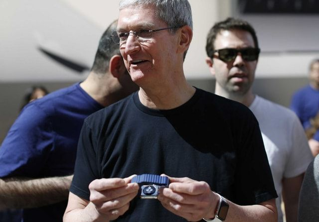 Tim-Cook, Apple Watch