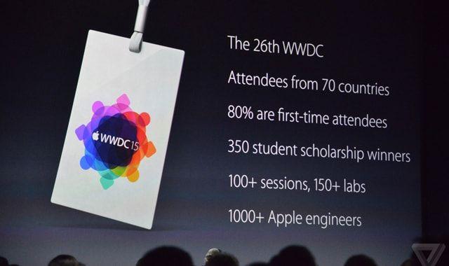 Tim Cook, WWDC 2015
