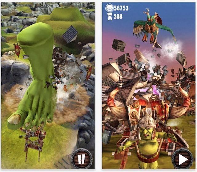 Игра Warhammer: Snotling Fling