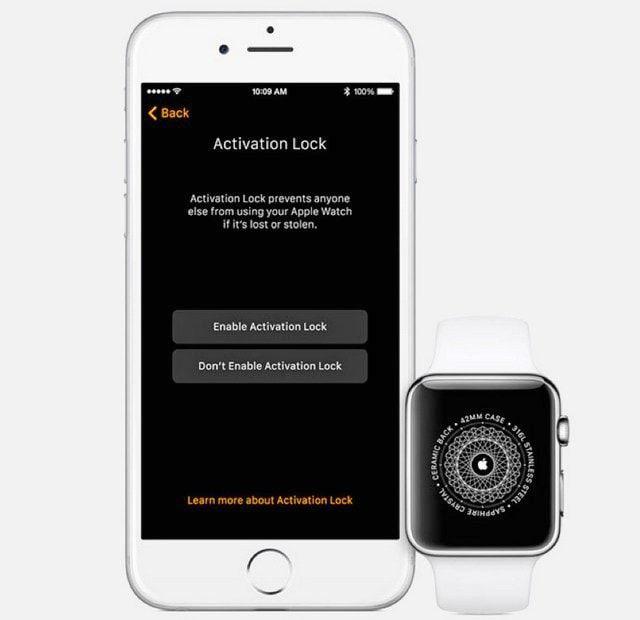Activation Lock станет доступна в Apple Watch