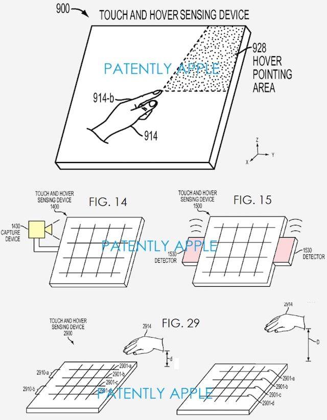 Apple патентует систему «Прогнозирования и наведения жестов» для сенсорных экранов