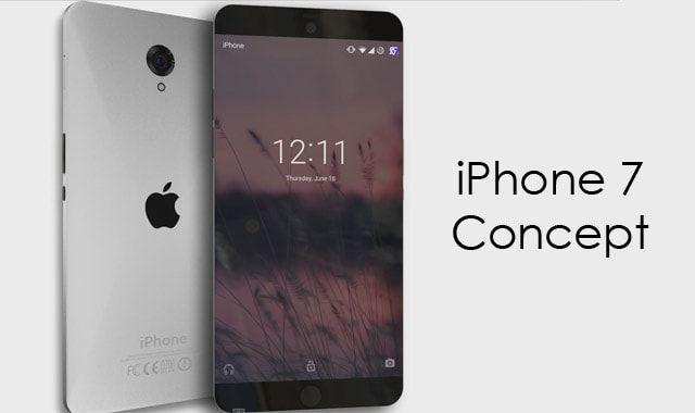 iPhone 7, концепт