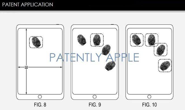 iPhone, сенсорный экран
