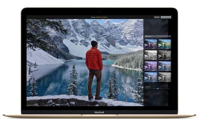 Приложение Фото на Mac OS X