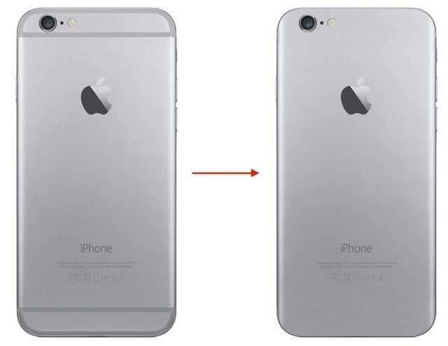 Пластиковые вставки в корпусе iPhone