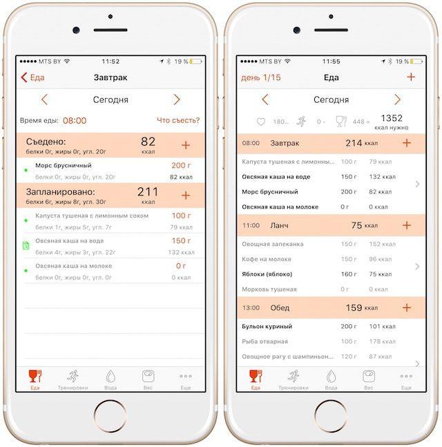 """Приложение """"Похудеть"""" для iPhone и iPad поможет обрести стройную фигуру в короткие сроки"""