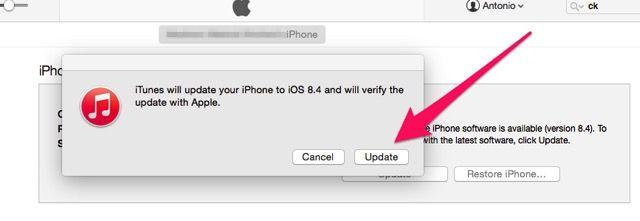 iOS Update