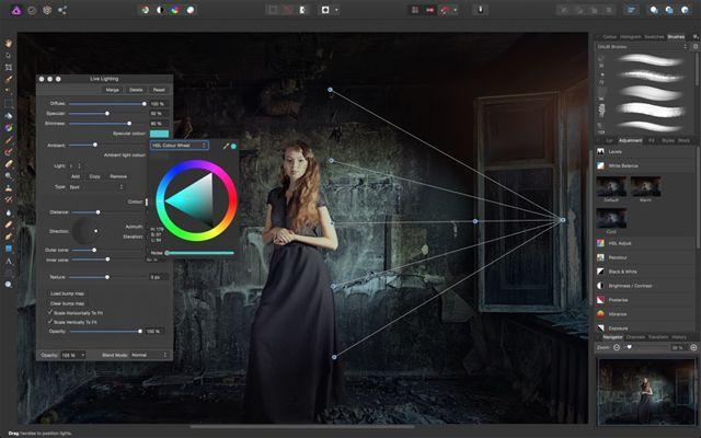 Affinity Photo, Mac, графический редактор