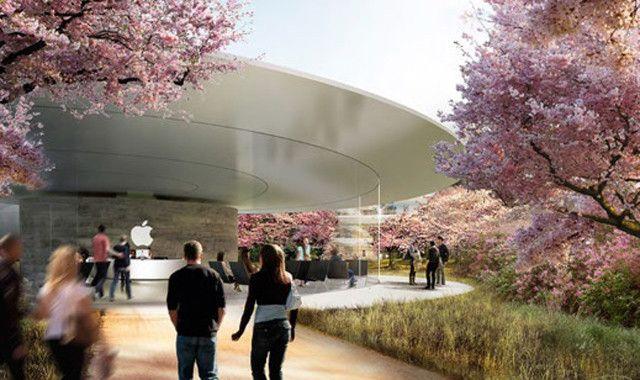Apple Сampus 2, Центр для посетителей