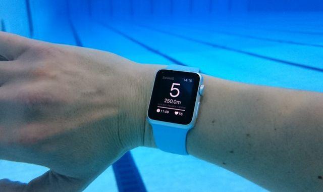 Apple Watch, приложение для плавания