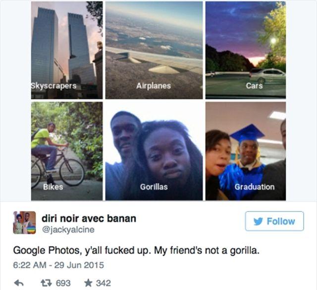 Google, тег gorillas