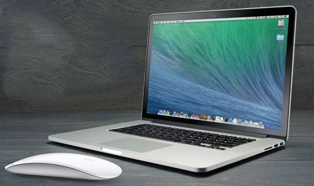 Magic Mouse, MacBook Pro