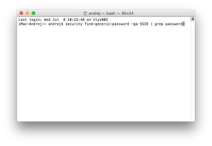 Wi-Fi, инструкция, пароль, OS X
