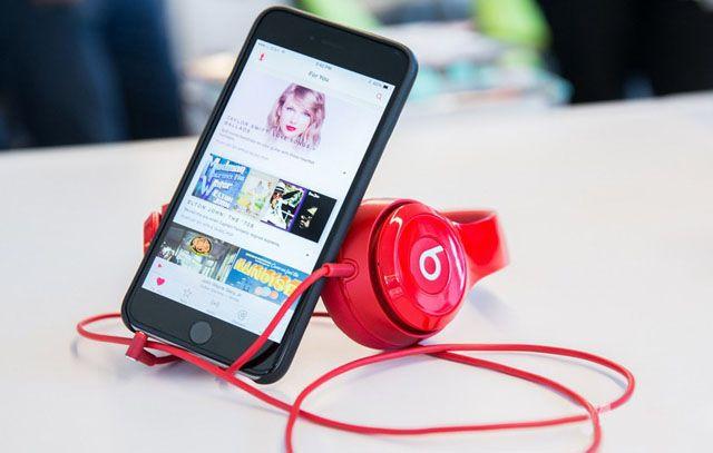 Apple Music, музыка