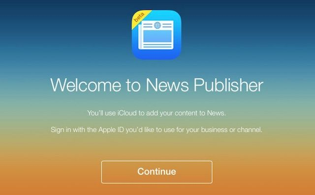 Apple news издатель