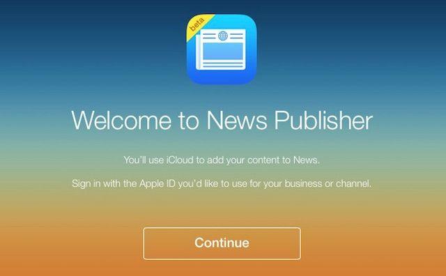 Apple news издатель