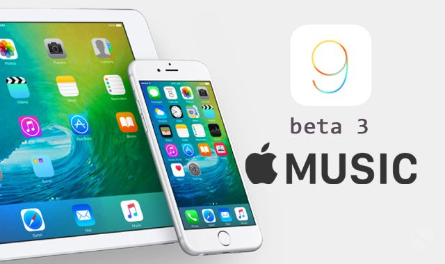 iOS 9 beta 3, Apple Music