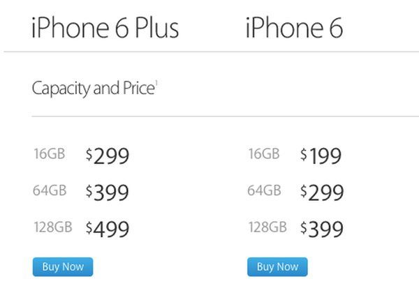 iPhone, 16 Гб