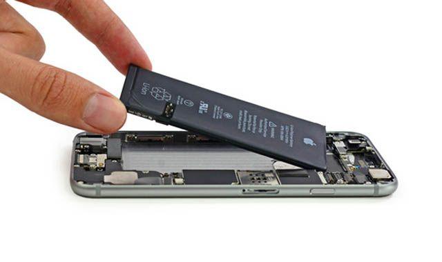iPhone, замена батареи