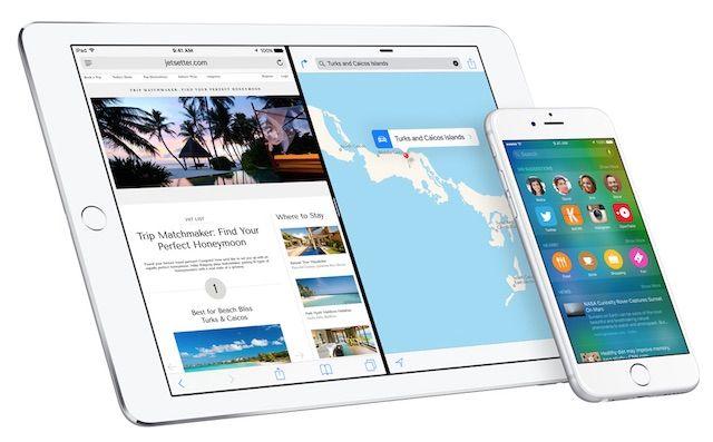 iOS 9 публичная бета