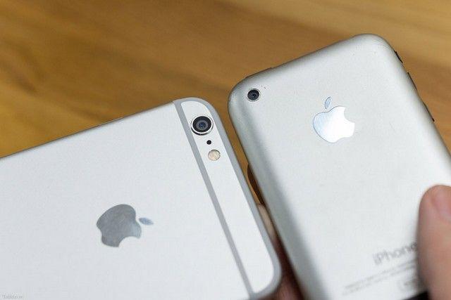 iPhone 6 и iPhone 2G