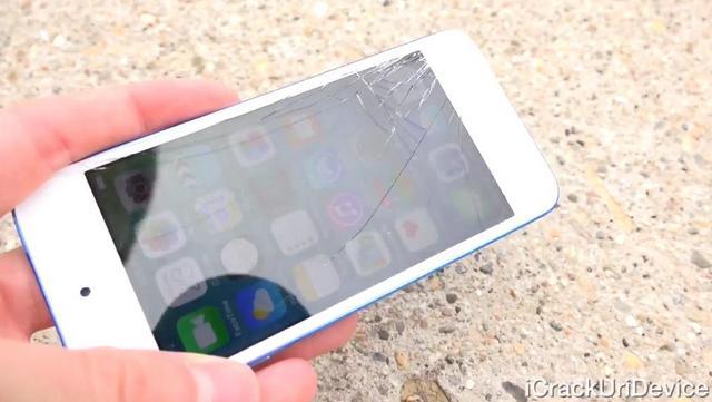 Краш-тест iPod touch 6G
