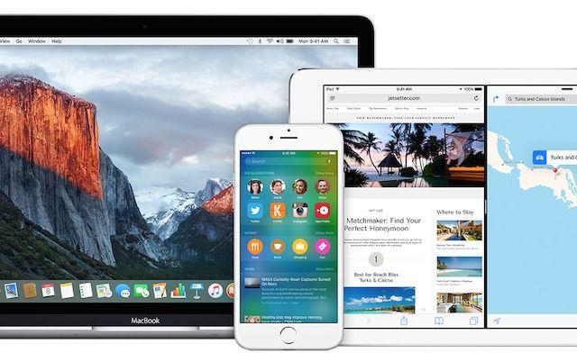 OS X El Capitan и iOS 9 - публичная версия