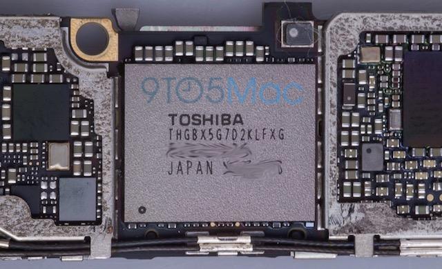 Накопитель в iPhone 6s