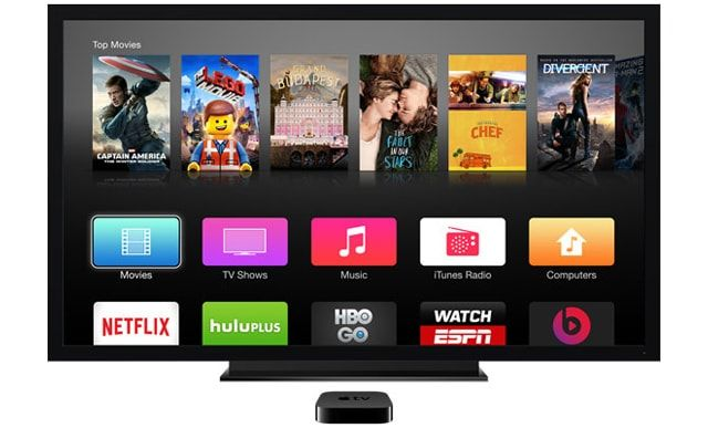 Apple TV, запуск перенесен на 2016