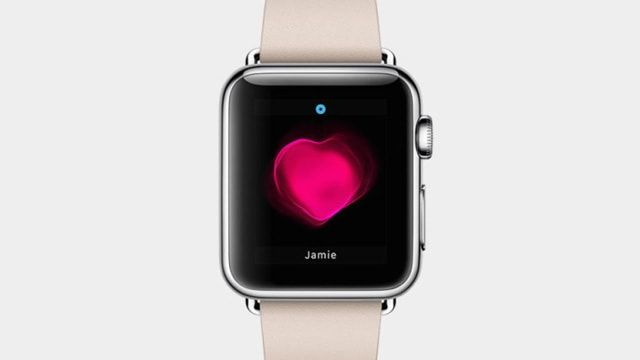 Apple Watch, сердцебиение
