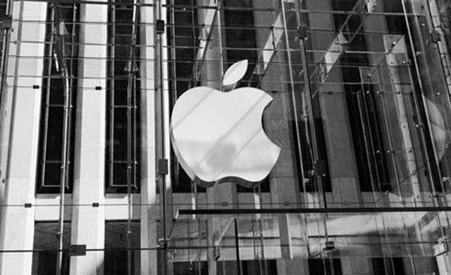 Apple, акции, проседание
