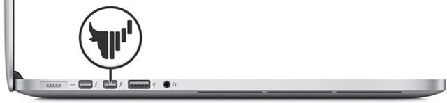 Bull.box, MacBook, внешняя видеокарта