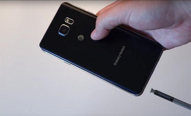 Galaxy Note 5, стилус