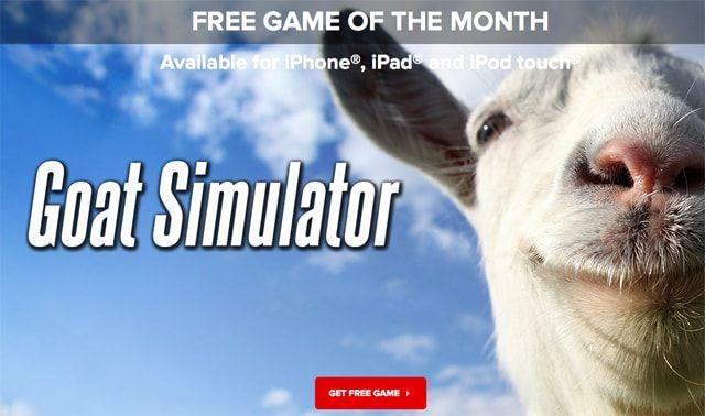 Goat Sumulator, игра месяца