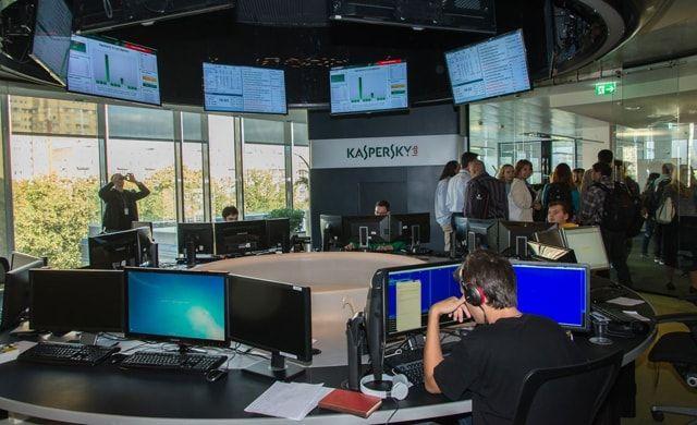 Лаборатория Касперского, саботаж